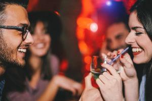 Minors consuming alcohol at a party